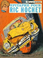 Ric Hochet -17b1980- Épitaphe pour Ric Hochet