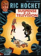 Ric Hochet -7a82- Suspense à la télévision