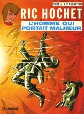 Ric Hochet -20a83- L'homme qui portait malheur
