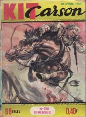 Kit Carson -218- Les cougouars du Manitou