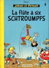 Johan et Pirlouit -9c1975- La flûte à six schtroumpfs