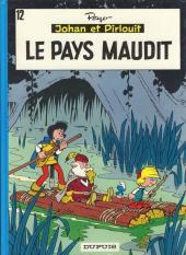 Johan et Pirlouit -12b1986- Le pays maudit