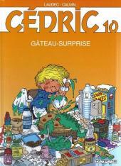 Cédric -10c05- Gâteau-surprise