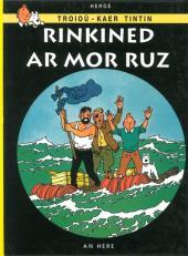 Tintin (en langues régionales) -19Breton- Rinkined ar Mor Ruz