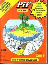 Pif Poche -260- Sur leur île déserte