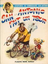 San-Antonio (Les Aventures du Commissaire) -3- San-Antonio fait un tour
