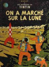 Tintin (Historique) -17B30- On a marché sur la lune