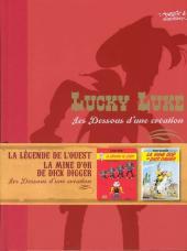 Lucky Luke - Les Dessous d'une création (Atlas) -32- La légende de l'ouest - la mine d'or de dick digger