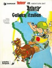Astérix (en langues étrangères) -5Basq- Asterix Galiako itzulian