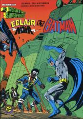 Les géants des super-héros -7- Eclair Noir et Batman