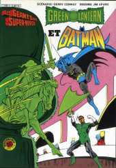 Les géants des super-héros -9- Green Lantern et Batman