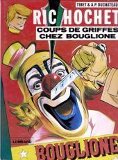 Ric Hochet -25a79- Coups de griffes chez Bouglione