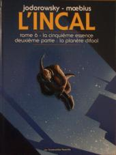 L'incal - Une aventure de John Difool -6d2011- La cinquième essence : La planète Difool