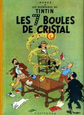 Tintin (Historique) -13B22bis- Les 7 boules de cristal