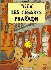 Tintin (Historique) -4C6Bis- Les cigares du pharaon