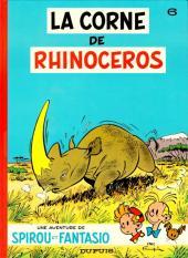 Spirou et Fantasio -6f93- La corne de rhinocéros