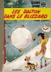 Lucky Luke -22a67- Les Dalton dans le blizzard