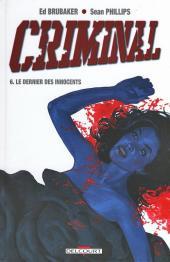 Criminal -6- Le Dernier des innocents