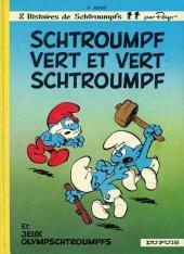 Les schtroumpfs -9d1993/03- Schtroumpf vert et vert schtroumpf