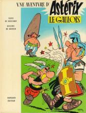 Astérix -1c72- Astérix le gaulois