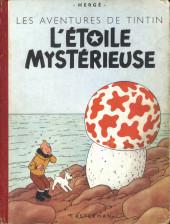 Tintin (Historique) -10B05- L'étoile mystérieuse