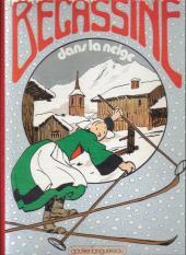 Bécassine -19c80- Bécassine dans la neige