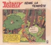Astérix (Elf) -17- Astérix sème la tempête