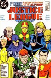 Justice League (1987) -1- Born Again