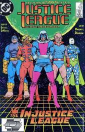 Justice League International (1987) -23- Gross injustice