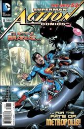 Action Comics (2011) -8- Superman meets the collector of worlds