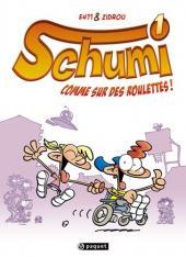 Schumi -1- Comme sur des roulettes !