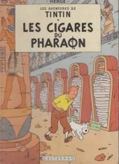 Tintin (Historique) -4B23bis- Les cigares du pharaon