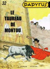 Papyrus -32- Le taureau de Montou