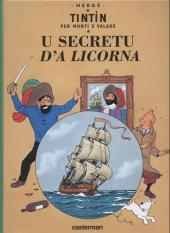 Tintin (en langues régionales) -11Monégasque- U secretu d'A Licorna