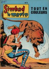 Simbad le marin (Éditions Mondiales) -Rec03- Album N°3 (du n°9 au n°12)