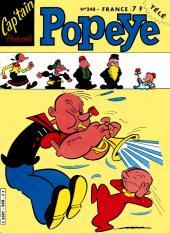 Popeye (Cap'tain présente) -248- La vallée de la mort