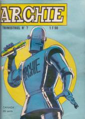 Archie (Jeunesse et Vacances) -7- El Lobo