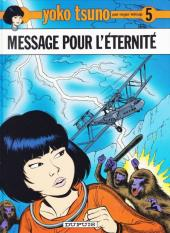 Yoko Tsuno -5Pub- Message pour l'éternité