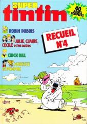(Recueil) Tintin Super -R4- Reliure Super Tintin n°32 Super Rieur, n°33 Jungle, n°34 Sport, n°35 Insolite