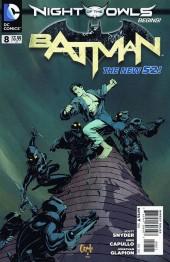 Batman (2011) -8- Attack on Wayne manor