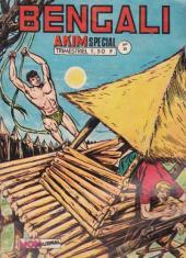 Bengali (Akim Spécial Hors-Série puis Akim Spécial puis) -39- L'île du malheur
