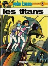 Yoko Tsuno -8c00- Les titans