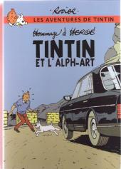 Tintin - Pastiches, parodies & pirates -19c2011- Tintin et l'alph-art