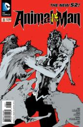 Animal Man (2011) -8- Animal vs Man part 2