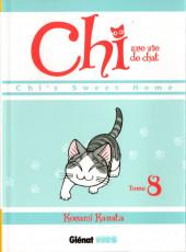 Chi - Une vie de chat (format manga) -8- Tome 8