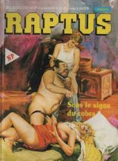 Raptus -1- Sous le signe du cobra