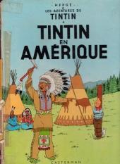 Tintin (Historique) -3B38bis- Tintin en amérique