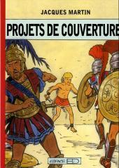 (AUT) Martin, Jacques -TT- Projets de couvertures