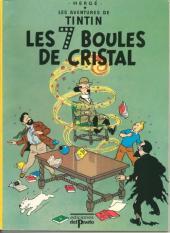 Tintin (Study Comics - del Prado) -1- Les 7 boules de cristal