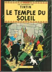 Tintin (Study Comics - del Prado) -2- Le temple du soleil